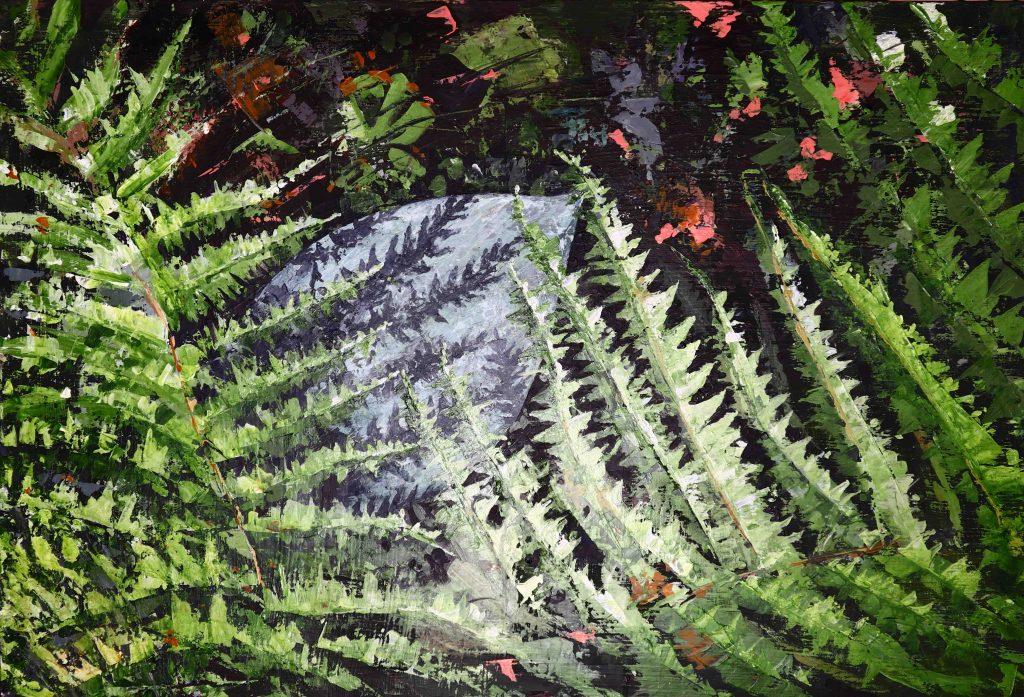 Hosta and Ferns