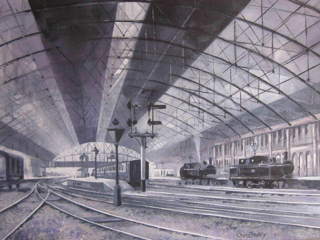 Birmingham, New Street Station, 1900